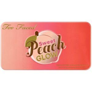 Too Faced Sweet Peach Glow Palette. NWT